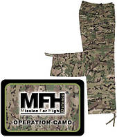 Штаны MFH US BDU Field, Rip Stop, operation camo 01334X