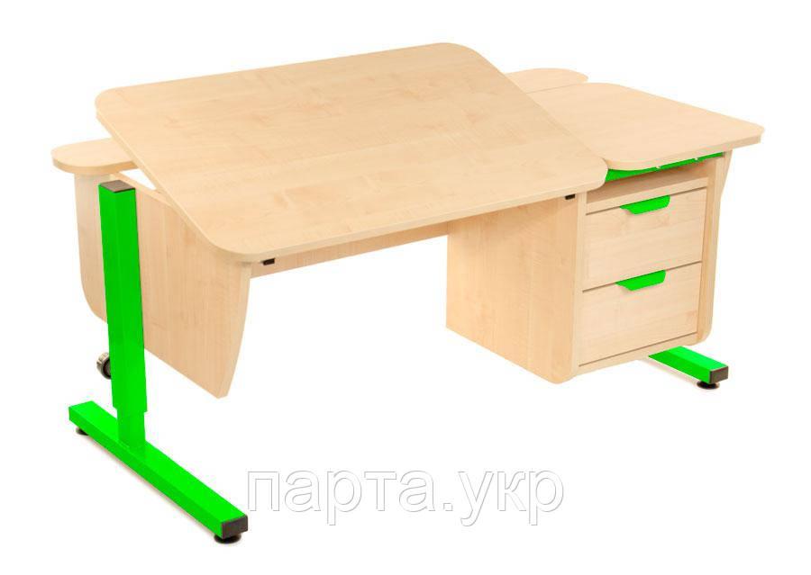 Парта-трансформер с ящиками, ДСП (цвет на выбор)