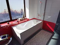 Прямоугольные ванни