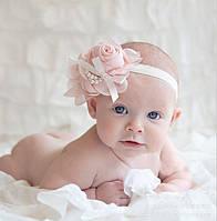 Аксессуары для новорожденных малышей (повязочки, пинетки, носочки, колготки и др.)