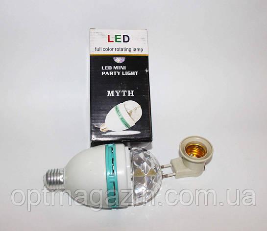 Лампа светомузыка 1-14, фото 2