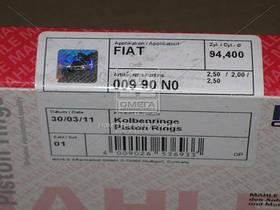 Кольца поршневые FIAT DUCATO (Фиат Дукато) 94,40 2,5 x 2,0 x 2,5 2,8TD Euro2/3 (пр-во Mahle)