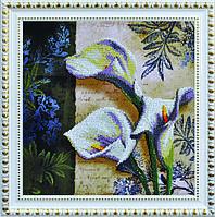 Набор для вышивания бисером Цветочный винтаж Р-181