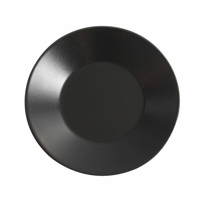 Тарелка круглая 21 см. фарфоровая, черная The Reserve, Viejo Valle