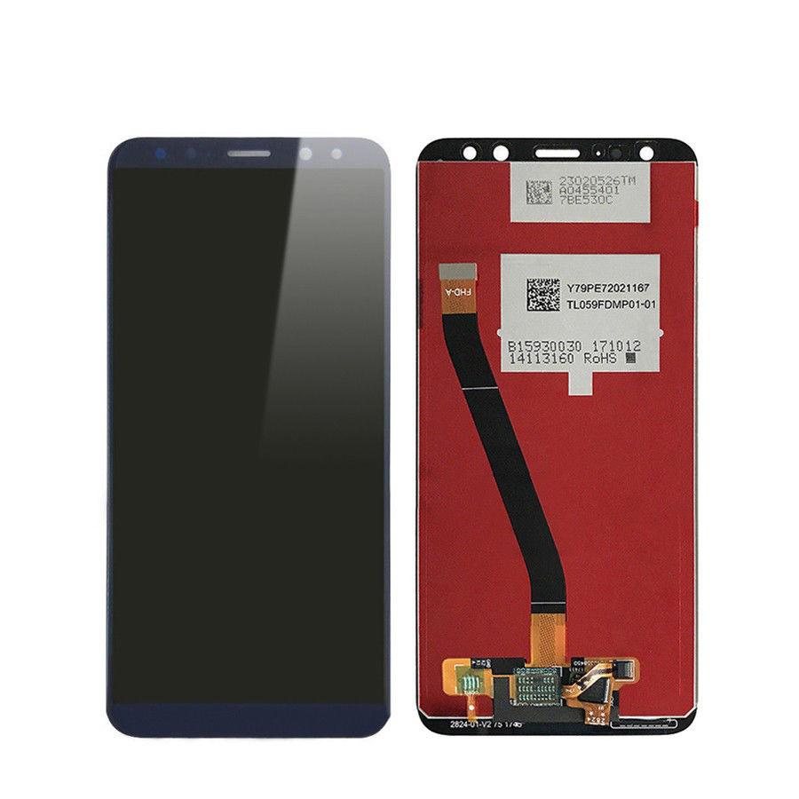 Дисплей (экран) для Huawei Mate 10 Lite RNE-L21 с сенсором (тачскрином) синий