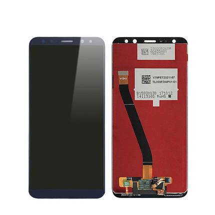 Дисплей (экран) для Huawei Mate 10 Lite RNE-L21 с сенсором (тачскрином) синий, фото 2