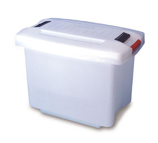 Емкость для хранения с крышкой 60х40х41 см., 50 л., полипропиленовый Araven