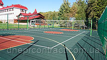 Резиновое наливное бесшовное покрытие для спортивных  площадок Alsatan MF Sport, фото 3