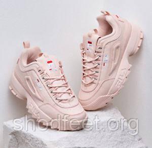 Жіночі кросівки Fila Disruptor II Pink