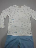 Пижама детская (футболка с длинным рукавом и штаны)