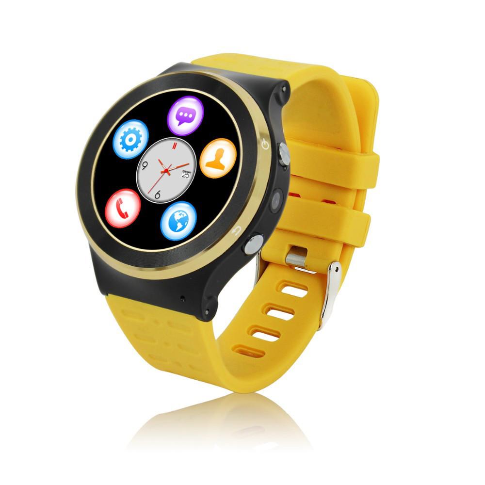 "Умные часы SUNROZ S51 смарт-часы с GPS 1,33"""" 400mAh Желтый (SUN0920)"