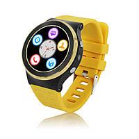 "Умные часы SUNROZ S51 смарт-часы с GPS 1,33"""" 400mAh Желтый (SUN0920), фото 1"