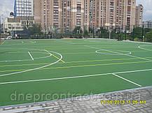 Резиновое наливное бесшовное покрытие для спортивных  площадок Alsatan MF Sport, фото 2