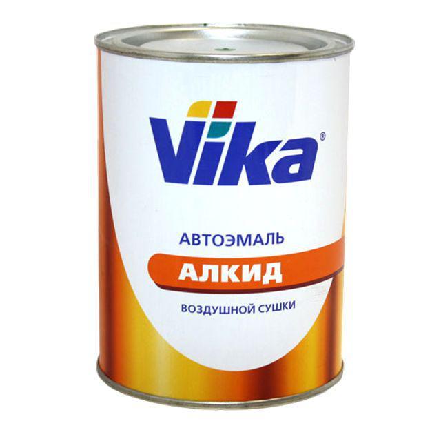 Автоэмаль алкидная краска VIKA 0,8л 210 кремовая