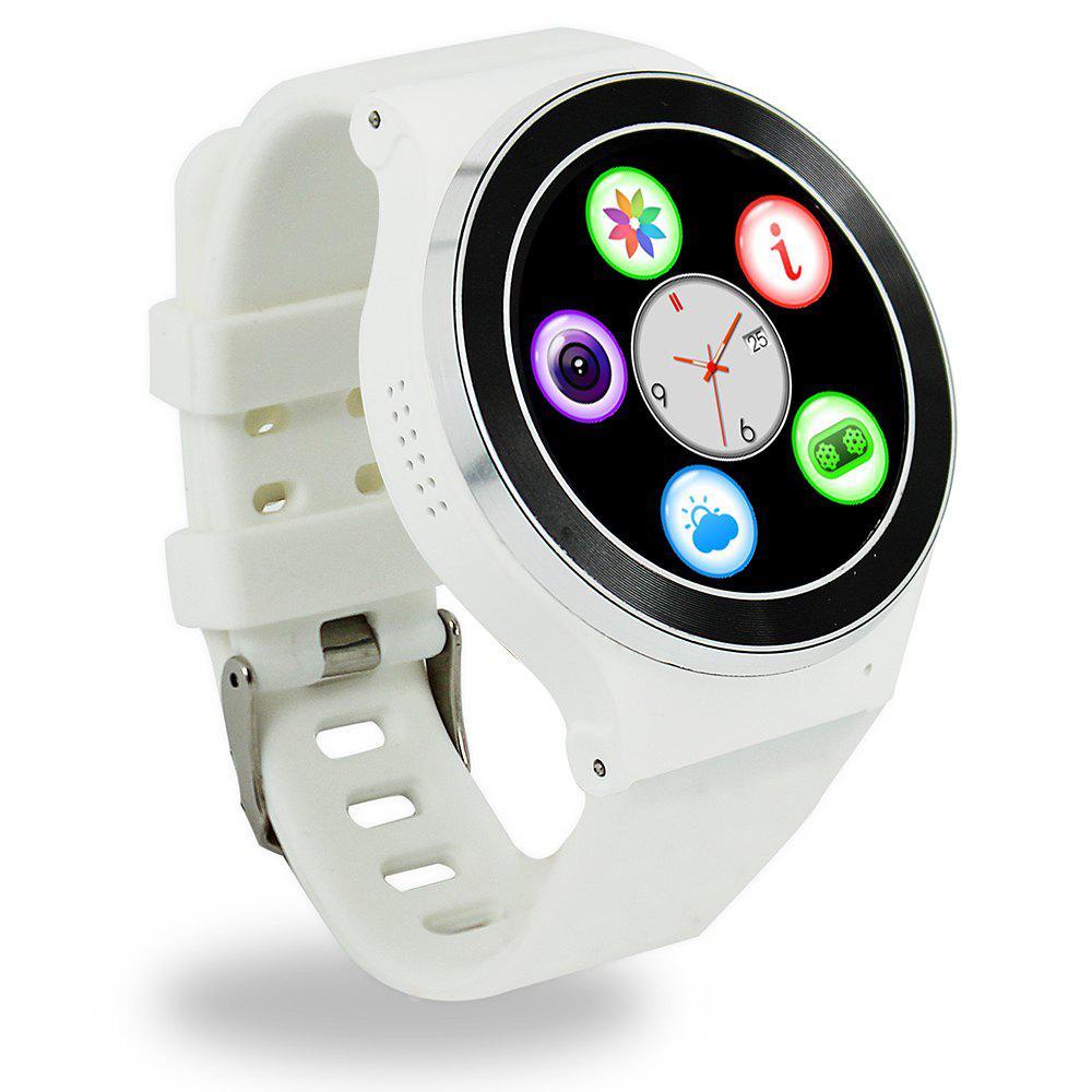 """Умные часы SUNROZ S51 смарт-часы с GPS 1,33"""""""" 400mAh Белый (SUN0921)"""