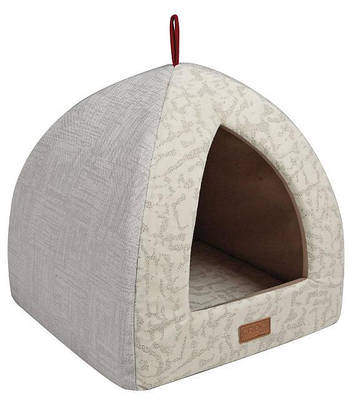 Домик Пирамида Cozy Beige 40х40х35см для собак и кошек