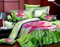 Комплект постельного белья сатин 3D