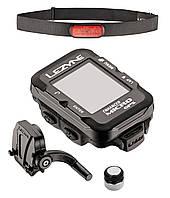 Велокомп`ютер бездротовий Lezyne MICRO GPS USB з датчиками HR/SC чорний