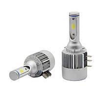 Светодиодные LED лампы головного света H15 72 Watt 7600LM 6500К Cree COB DRL Canbus