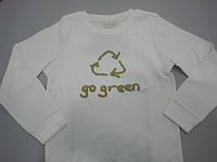 """Реглан из органического хлопка """"Go green"""""""