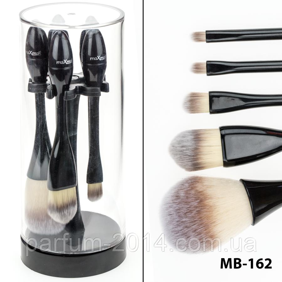 Набор кисточек для макияжа на подставке 5 инструментов maXmar MB-162