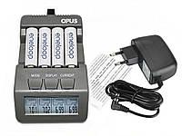Зарядное Opus BT-C700 для аккумуляторов АА и ААА