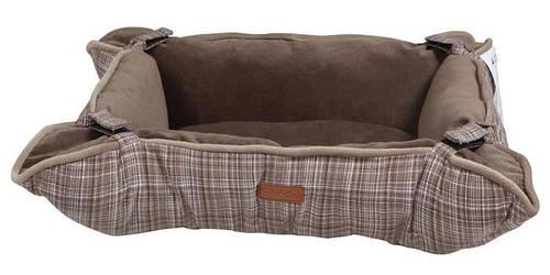 Диван-подстилка 2в1 для животного Cozy Brown   45x35,5x15 см