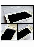 Вії AURORA одна довжина 0.10 D 11 мм, фото 1