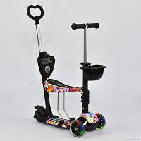 Самокат-толокар  Best Scooter 5в1  24978