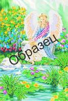 Схема для вышивки бисером «Райский уголок»