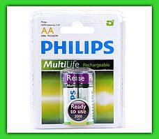 Аккумулятор Philips MultiLife AA 2000 mAh Ni-MH