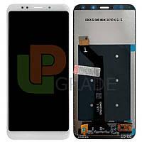 Дисплей Xiaomi Redmi 5 Plus с тачскрином (модуль), белый
