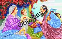 Схема для вышивки бисером «Святое семейство»
