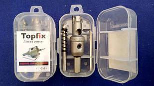 Коронка универсальная по металлу TOPFIX 16 мм