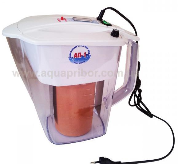 Активатор воды АП-1 на 2 л с титановыми электродами. Электроактиватор воды бытовой. Оригинал!