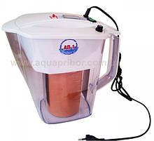 Активатор води АП-1 на 2 л з титановими електродами. Електроактіватор побутової води. Оригінал!