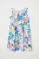 Красивое летнее платье , производитель h&m, 8-10 лет