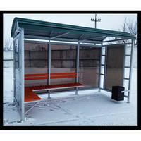 Автобусна зупинка громадського транспорту, фото 1