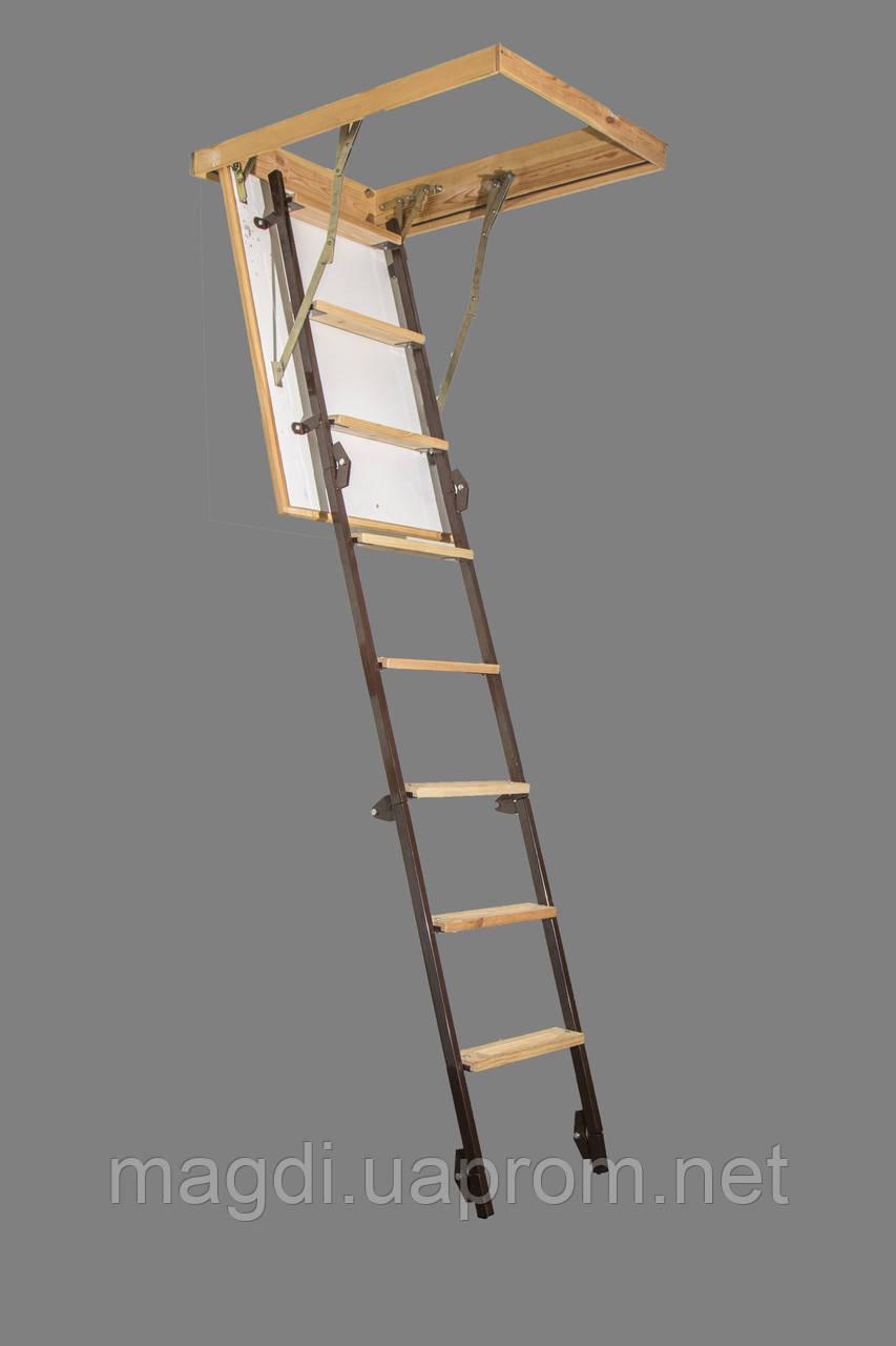 Чердачная лестница по размерам заказчика