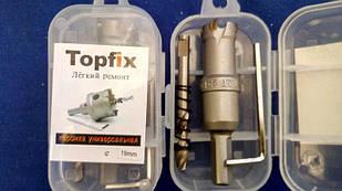 Коронка универсальная по металлу TOPFIX 19 мм