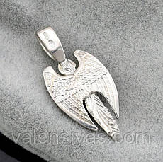 Серебряная подвеска - Ангел Хранитель, фото 2