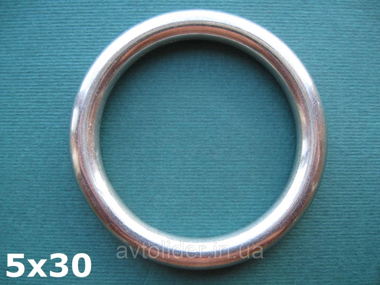 Нержавеющее кольцо 5х30, фото 1