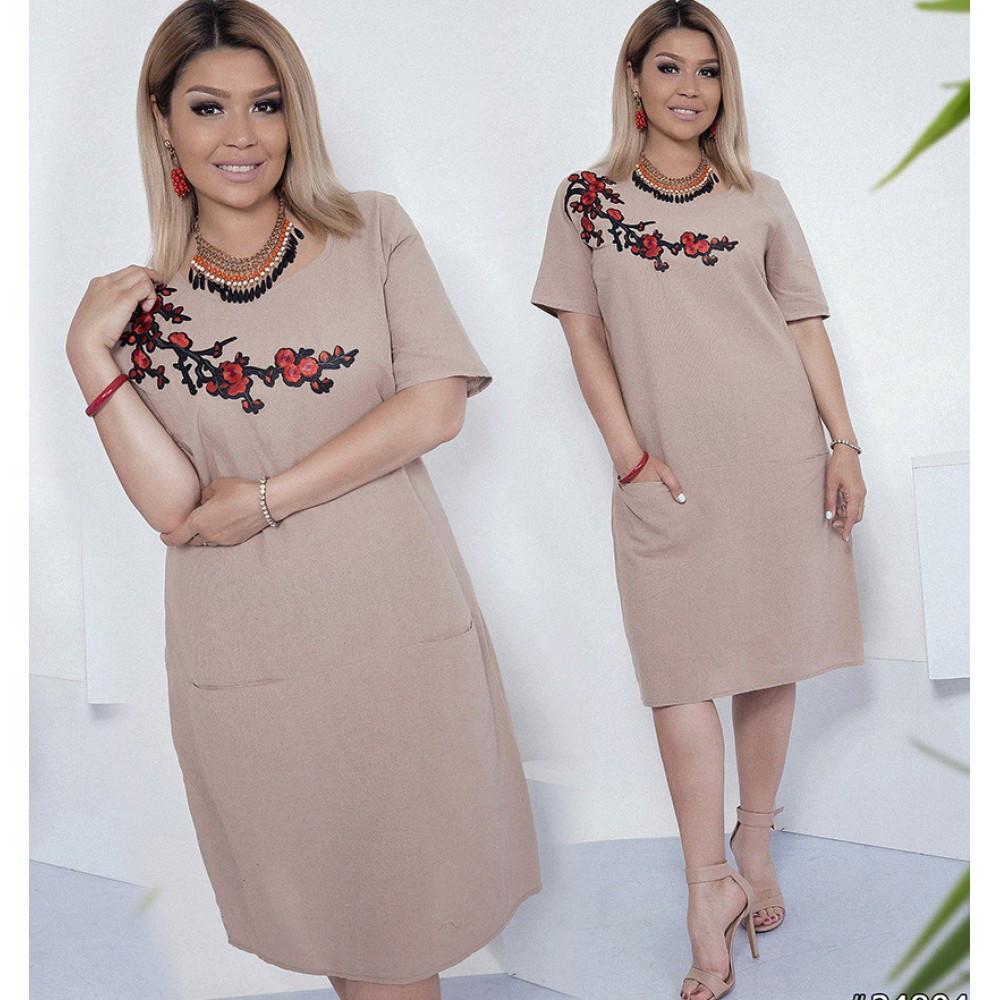 5bbfbf07fecfc2 Сукня жіноча з льону + вишивка сакура: продажа, цена в Полтаві ...