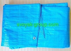 Труби поліпропіленові, тарпаулиновые.Пологи, щільність 55 г/м2.(Колір синій).