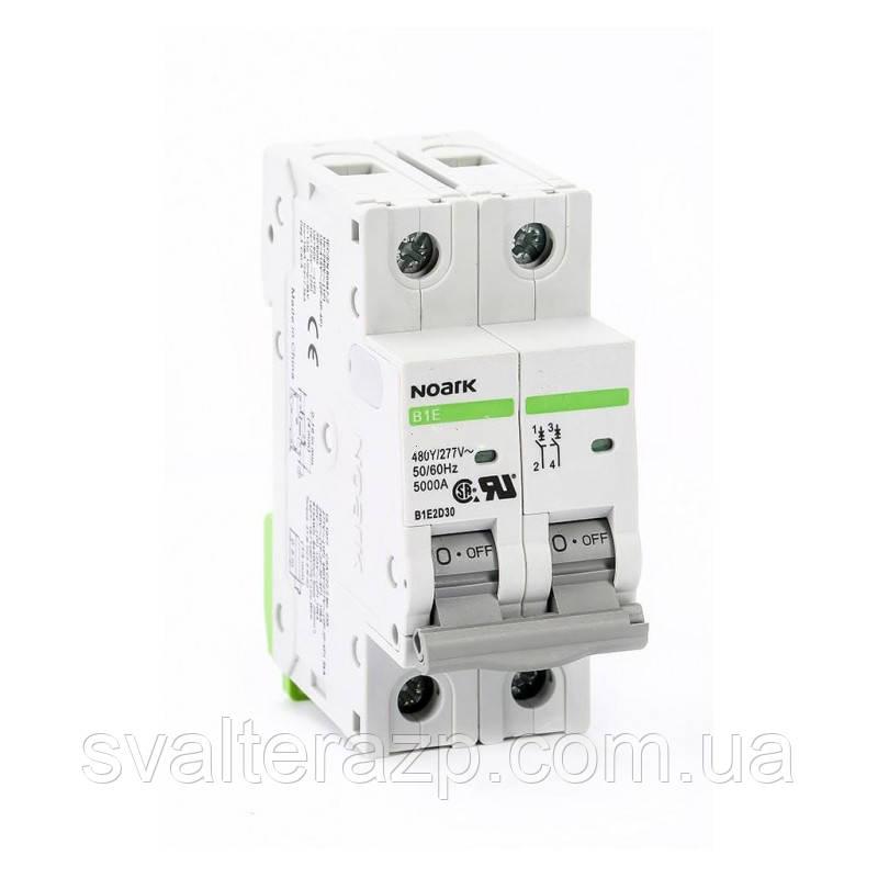 Автоматический выключатель Noark Ex9BS 2P C63