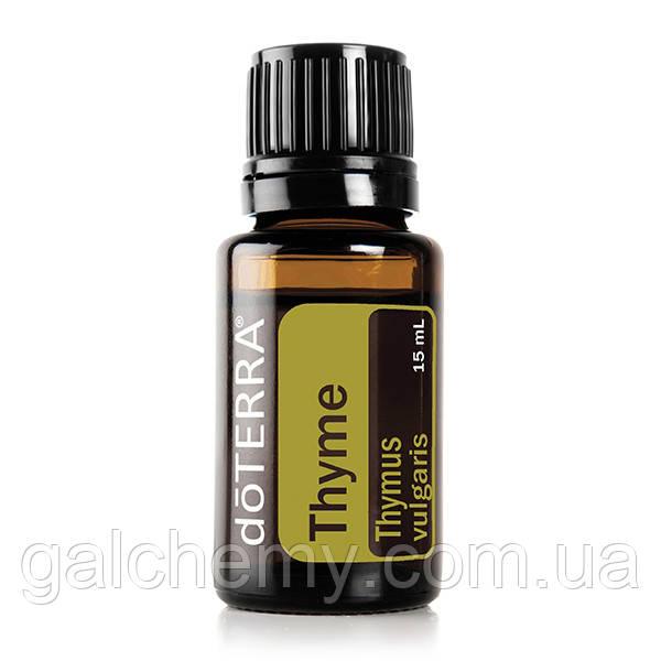 Thyme Essential Oil / Тимьян (Thymus vulgaris), эфирное масло, 15 мл