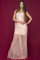 Платье длинное Марселла, (2цв), вечернее платье в пол, летнее длинное платье, дропшиппинг, фото 1