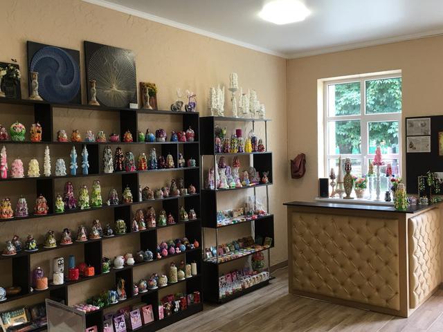 Мастерская-магазин резных свечей ручной работы