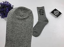 Носки ASSC Anti Social Social Club (серый), фото 3