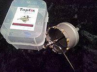 Коронка универсальная по металлу TOPFIX 45 мм